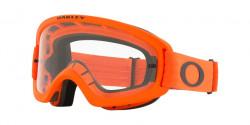 Oakley OO 7116 O FRAME 2.0 PRO XS MX  - 711614  MOTO ORANGE clear