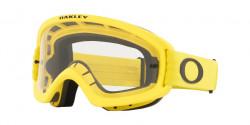 Oakley OO 7116 O FRAME 2.0 PRO XS MX  - 711617  MOTO YELLOW clear