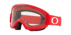 Oakley OO 7116 O FRAME 2.0 PRO XS MX  - 711618  MOTO RED clear