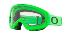 Oakley OO 7116 O FRAME 2.0 PRO XS MX  - 711619  MOTO GREEN clear