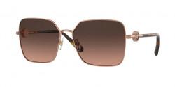Versace VE 2227 - 1466G9  MATTE PINK GOLD brown gradient grey