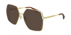Gucci GG 0817 S - 002 GOLD brown