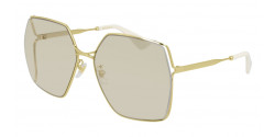 Gucci GG 0817 S - 005 GOLD yellow