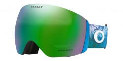 Gogle OAKLEY OO 7050 FLIGHT DECK  L - 7050B4  MIKAELA SHIFFRIN BLUE  prizm snow jade iridium