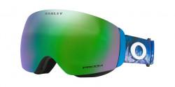 Oakley OO 7064 FLIGHT DECK M - 7064C0  MIKAELA SHIFFRIN BLUE prizm snow jade iridium
