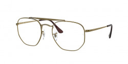 Ray-Ban RB 3648 V THE MARSHAL - 3117  ANTIQUE GOLD