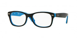 Ray-Ban Junior RY 1528 3659 TOP BLACK ON AZURE