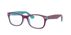 Ray-Ban Junior RY 1528 3763  BLUE TRASP ON TOP FUXIA