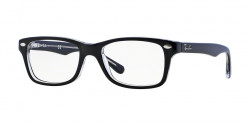 Ray-Ban Junior RY 1531 3529 TOP BLACK ON TRANSPARENT