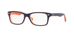 Ray-Ban Junior RY 1531 3762  ORANGE TRASP ON TOP BLUE