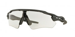 Oakley OO 9208 RADAR EV PATH  920813  STEEL clear to black photochromic
