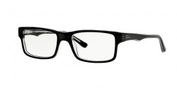 Ray-Ban RB 5245 2034  TOP BLACK ON TRANSPARENT