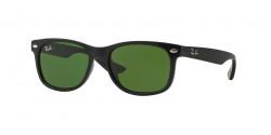 Ray-Ban RJ 9052 S Junior 100/2  SHINY BLACK, green