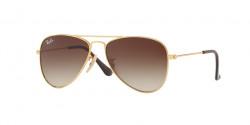 Ray-Ban RJ 9506 S Junior 223/13  GOLD brown gradient