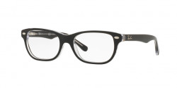 Ray-Ban Junior RY 1555  3529  TOP BLACK ON TRANSPARENT