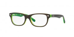 Ray-Ban Junior RY 1555  3665  TOP BROWN ON GREEN FLUO