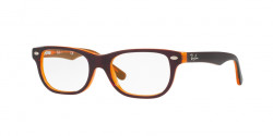 Ray-Ban Junior RY 1555  3674  TOP BROWN ON ORANGE FLUO