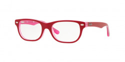 Ray-Ban Junior RY 1555  3761  TRASPARENT PINK ON TOP BORDEAU