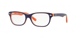 Ray-Ban Junior RY 1555  3762  TRASP ORANGE ON TOP BLUE
