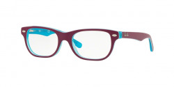 Ray-Ban Junior RY 1555  3763  BLUE TRASP ON TOP FUXIA