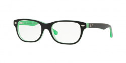Ray-Ban Junior RY 1555  3764  GREEN TRASP ON TOP BLACK