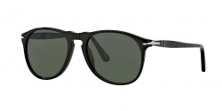 Persol PO 9649 S 95/31  BLACK, crystal green