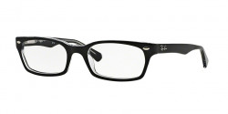 Ray-Ban RB 5150 2034  TOP BLACK ON TRANSPARENT