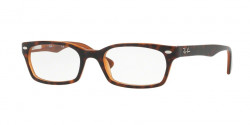 Ray-Ban RB 5150 5713  TOP HAVANA ON LIGHT BROWN