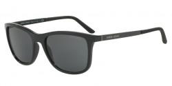 Giorgio Armani AR 8087 501787  BLACK, grey