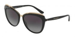 Dolce&Gabbana DG 4304 501/8G  BLACK, grey gradient