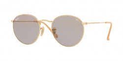 Ray-Ban RB 3447 ROUND METAL 9064V8  GOLD photo grey