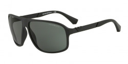 Emporio Armani EA 4029 50638G  BLACK RUBBER grey gradient
