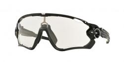 Oakley OO 9290 JAWBREAKER 929014  POLISHED BLACK  clear to black photochromic