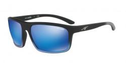 Arnette AN 4229 SANDBANK 242725   BLACK GRAD SHOT BLUE, green mirror light blue