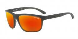 Arnette AN 4234 BOOGER 25606Q  MATTE GREY  dark grey mirror red/yellow