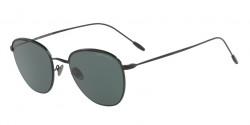 Giorgio Armani AR 6048 300171  MATTE BLACK/BLACK, grey green