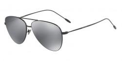 Giorgio Armani AR 6049 30016G  MATTE BLACK,  light grey mirror black
