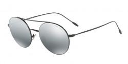 Giorgio Armani AR 6050 301488  BLACK, grey mirror silver gradient