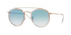 Ray-Ban RB 3647 N 90683F  COPPER clear gradient blue