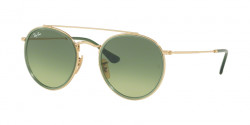Ray-Ban RB 3647 N 91224M  GOLD green gradient green