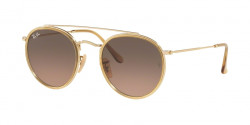 Ray-Ban RB 3647 N 912443  GOLD brown gradient grey