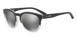 Arnette AN 4230 CUT BACK 24206G MATTE BLACK/MATTE CRYSTAL,  grey mirror silver