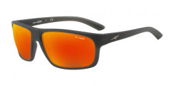 Arnette AN 4225 BURNOUT  01/22  MATTE BLACK polar dark grey mirror water