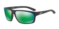 Arnette AN 4225 BURNOUT  01/1I  MATTE BLACK polar dark grey mirror green