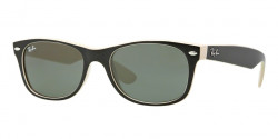 Ray-Ban RB 2132 NEW WAYFARER 875  TOP BLACK ON BEI crystal green
