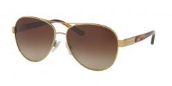 Ralph Lauren RL 7054 Q 911613  LIGHT GOLD, brown gradient