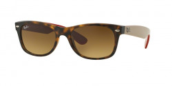 Ray-Ban RB 2132 NEW WAYFARER 618185  MATTE HAVANA  brown gradient dark brown