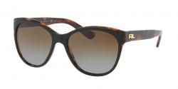 Ralph Lauren RL 8156 5260T5  TOP BLACK/HAVANA JERRY, gradient brown polar