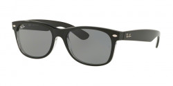 Ray-Ban RB 2132 NEW WAYFARER 6398Y5  BLACK/TRASPARENT  blue mir gold