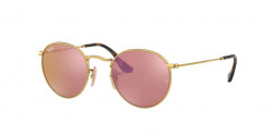 Ray-Ban RB 3447 N ROUND METAL 001/Z2  SHINY GOLD copper flash